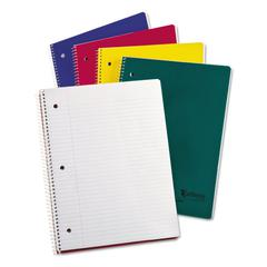 Earthwise by Oxford Recycled 1-Subject Notebooks, 11 x 8 1/2, WE, 80 SH