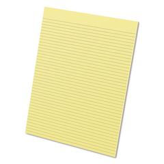 Glue Top Pads, 8 1/2 x 11, Canary, 50 Sheets, Dozen