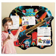 Educational Insights You Rock Hall of Fame Student Chart, 5 Pockets, Multicolor, 31 1/4 x 29 1/4,