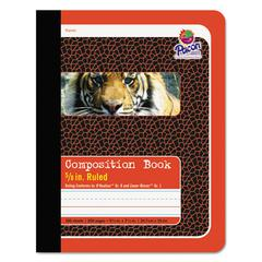 Pacon Composition Book, 5/8 Ruling, 9 3/4 x 7 1/2, 100 Sheets
