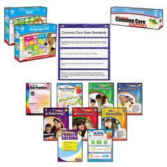 Carson-Dellosa Publishing Common Core Kit, Math/Language, Grade 3