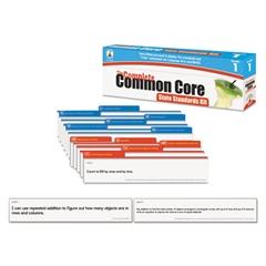 Publishing Common Core State Standard Pocket Chart Cards, Language Arts & Math, Grade 1
