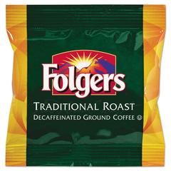 Folgers Ground Coffee Fraction Packs, Classic Roast Decaf, 1.5oz, 42/Carton