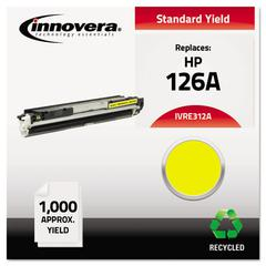 Remanufactured CE312A (126A) Toner, Yellow