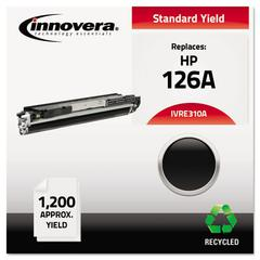 Innovera Remanufactured CE310A (126A) Toner, Black