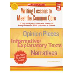 Common Core Writing Lessons, Grade 2