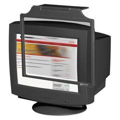 "Innovera Privacy Antiglare Antistatic Antiradiation Monitor Filter for 19""-21"" CRT, Black"