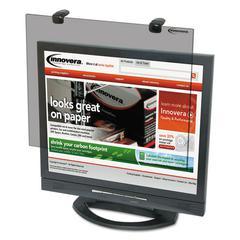 """Protective Antiglare LCD Monitor Filter, Fits 19"""" LCD Monitors"""