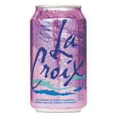 LaCroix Sparkling Water, Berry, 12oz Can, 24/Carton