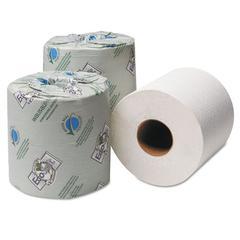 EcoSoft Universal Bathroom Tissue, 2-Ply, 500 Sheets/Roll, 96 Rolls/Carton