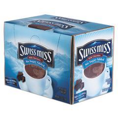 Hot Cocoa Mix, No Sugar Added, 24 Packets/Box