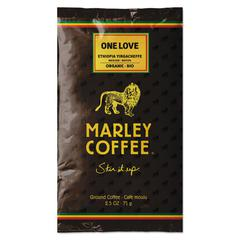 Marley Coffee Coffee Fractional Pack, One Love, 18/Box
