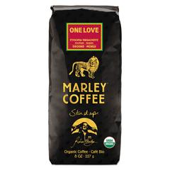 Marley Coffee Coffee Bulk, One Love, 8 oz Bag