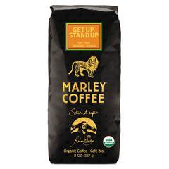 Marley Coffee Coffee Bulk, Get Up Stand Up, 8 oz Bag