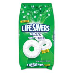 Hard Candy Mints, Wint-O-Green, 50oz Bag