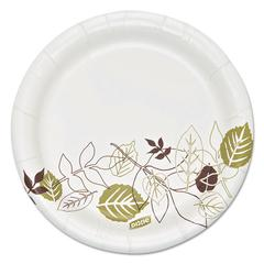 """Dixie Ultra Pathways Soak Proof Shield Heavyweight Paper Plates, 5 7/8"""" dia, 125/Pack"""