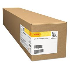 "Kodak Photo Tex Repositionable Fabric/Aqueous Roll, 6 mil, Matte, 24"" x 100 ft."