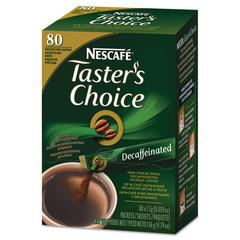 Taster's Choice Stick Pack, Decaf, .06oz, 80/Box