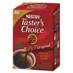 Nescafé Taster's Choice Stick Pack, Premium Choice, 80/Box