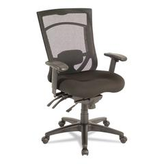 Alera Alera EX Series Mesh Multifunction High-Back Chair, Black