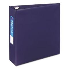 """Avery Heavy-Duty Binder with One Touch EZD Rings, 11 x 8 1/2, 3"""" Capacity, Navy Blue"""