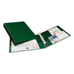 """Avery Heavy-Duty Binder with One Touch EZD Rings, 11 x 8 1/2, 1"""" Capacity, Green"""