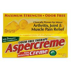 Aspercreme Pain-Relieving Creme, 1.25oz Tube