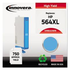 Innovera Remanufactured CB323WN (564XL) High-Yield Ink, Cyan