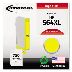 Innovera Remanufactured CB325WN (564XL) High-Yield Ink, Yellow