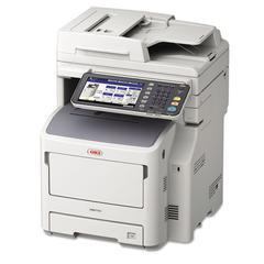 Oki MB770fx Multifunction Monochrome Laser Printer, Copy/Fax/Print/Scan