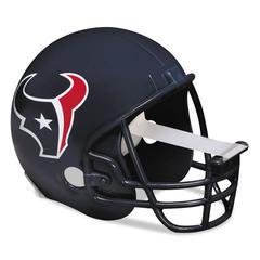 "Scotch NFL Helmet Tape Dispenser, Houston Texans, Plus 1 Roll Tape 3/4"" x 350"""