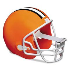 "Scotch NFL Helmet Tape Dispenser, Cleveland Browns, Plus 1 Roll Tape 3/4"" x 350"""