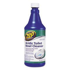 Zep Commercial Acidic Toilet Bowl Cleaner, 32 oz Bottle