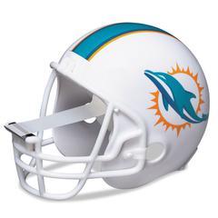 """Scotch NFL Helmet Tape Dispenser, Miami Dolphins, Plus 1 Roll Tape 3/4"""" x 350"""""""