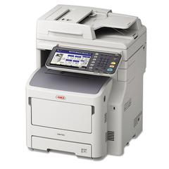 Oki MB760 MFP Multifunction Laser Printer, Copy/Fax/Print/Scan