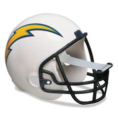 "Scotch NFL Helmet Tape Dispenser, San Diego Chargers, Plus 1 Roll Tape 3/4"" x 350"""
