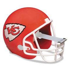 "NFL Helmet Tape Dispenser, Kansas City Chiefs, Plus 1 Roll Tape 3/4"" x 350"""