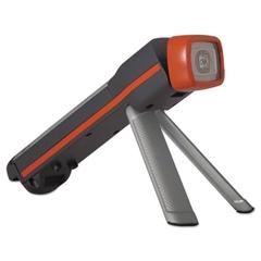 Fusion 3-in-1 Flashlight, LED, Black/Orange, 4 AA Batteries