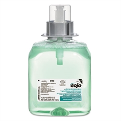 GOJO Luxury Foam Hair & Body Wash, 1250mL Refill, Cucumber Melon Scent, 3/Carton