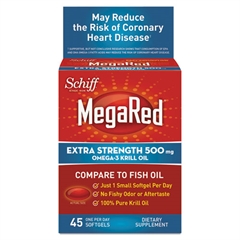 Omega-3 Krill Oil Softgel, 45 Count