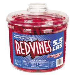 Original Red Twists, 5.5 lb Tub