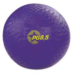 "Champion Sports Playground Ball, 8 1/2"" Diameter, Purple"