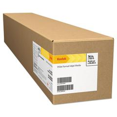 "Kodak Professional Inkjet Photo Paper Roll, Matte, 10.9 mil, 44"" x 100 ft, White"
