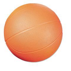 Coated Foam Sport Ball, Basketball, No. 3 Size, Orange