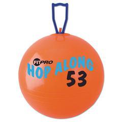 Champion Sports FitPro Hop Along Pon Pon Ball, 53cm, Red