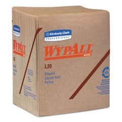L20 Towels, 1/4 Fold, 2-Ply, Brown, Paper, 144/Carton