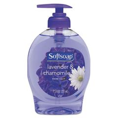 Elements Liquid Hand Soap, Lavender & Chamomile, 7.5 oz Pump Bottle, 12/Carton