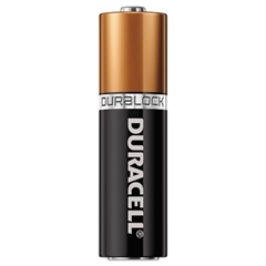 Duracell CopperTop Alkaline Batteries, Duralock Power Preserve Technology, AAA, 144/CT
