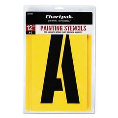 Painting Stencil Set, A-Z Set, Manila, 26/Set