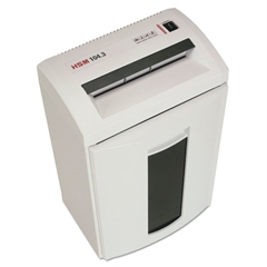 HSM Classic 104.3cc Cross-Cut Shredder, Shreds up to 14 Sheets, 8.7-Gallon Capacity